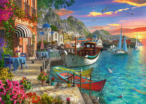 Grandiose Greece 1000pc Ravensburger puzzle