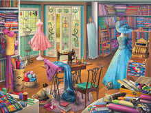 Load image into Gallery viewer, Seamstress Shop 1000pc Ravensburger puzzle