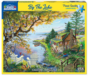 By the Lake 1000pc Large Format Puzzle