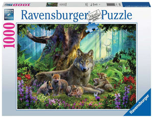 Wolves in the Forest 1000pc Ravensburger puzzle
