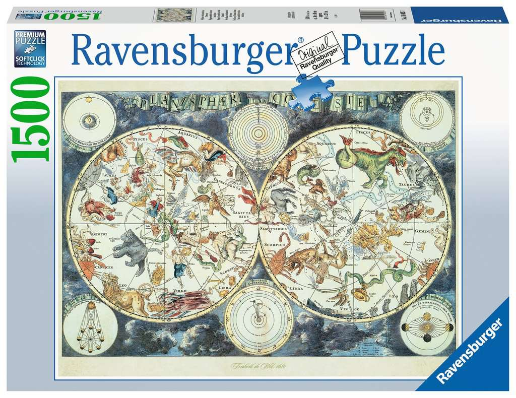 Map of the World 1500pc Ravensburger puzzle
