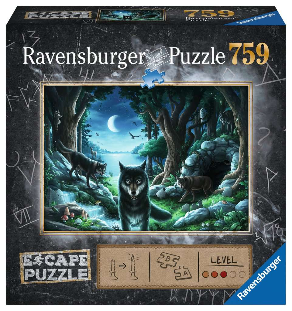 The Curse of the Wolves 756pc Ravensburger puzzle