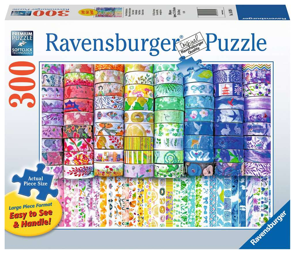 Washi Wishes 300pc Ravensburger puzzle