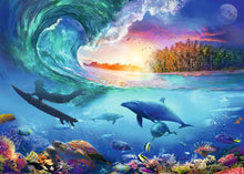 Load image into Gallery viewer, Catch a Wave 1000pc Ravensburger puzzle