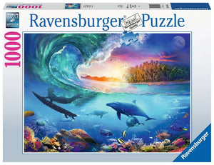 Catch a Wave 1000pc Ravensburger puzzle