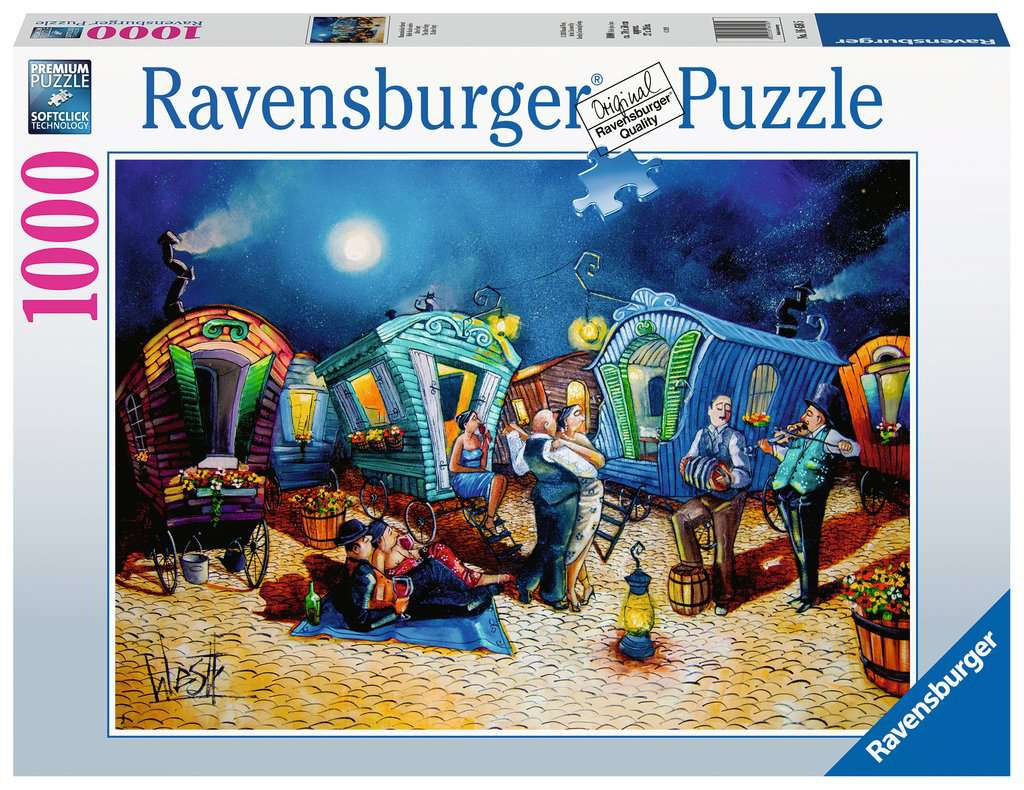 The After Party 1000pc Ravensburger puzzle