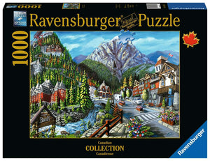 Welcome to Banff 1000pc Puzzle