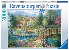 Load image into Gallery viewer, Shades of Summer 2000pc Ravensburger puzzle