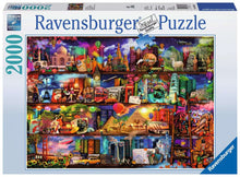 Load image into Gallery viewer, World of Books, 2000pc Ravensburger puzzle