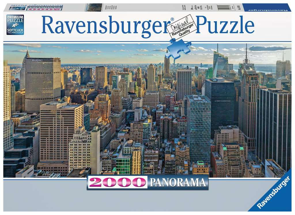 View over New York 2000pc Ravensburger puzzle