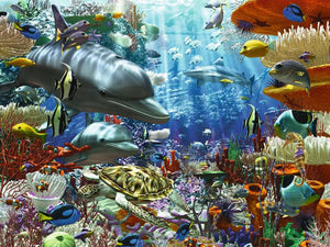 Oceanic Wonders 3000pc Ravensburger puzzle