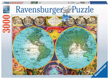 Load image into Gallery viewer, Antique Map 3000pc Puzzle