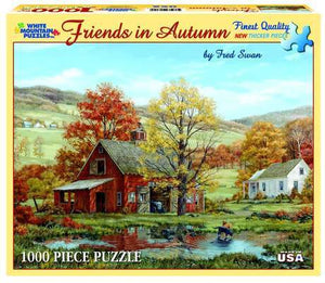 Friends in Autumn 1000pc Large Format Puzzle