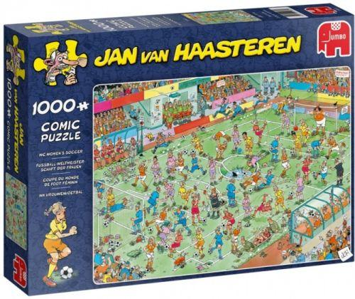 WC Women's Soccer by JvH 1000pc Puzzle