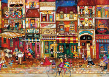 Load image into Gallery viewer, Streets of France 1000pc Ravensburger puzzle
