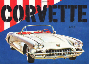 1958 Corvette Convertible 500pc Puzzle