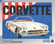 Load image into Gallery viewer, 1958 Corvette Convertible 500pc Puzzle
