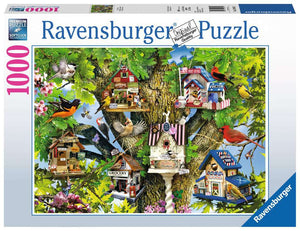 Bird Village 1000pc Ravensburger puzzle