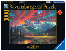 Load image into Gallery viewer, Alberta's Three Sisters 1000pc Ravensburger puzzle