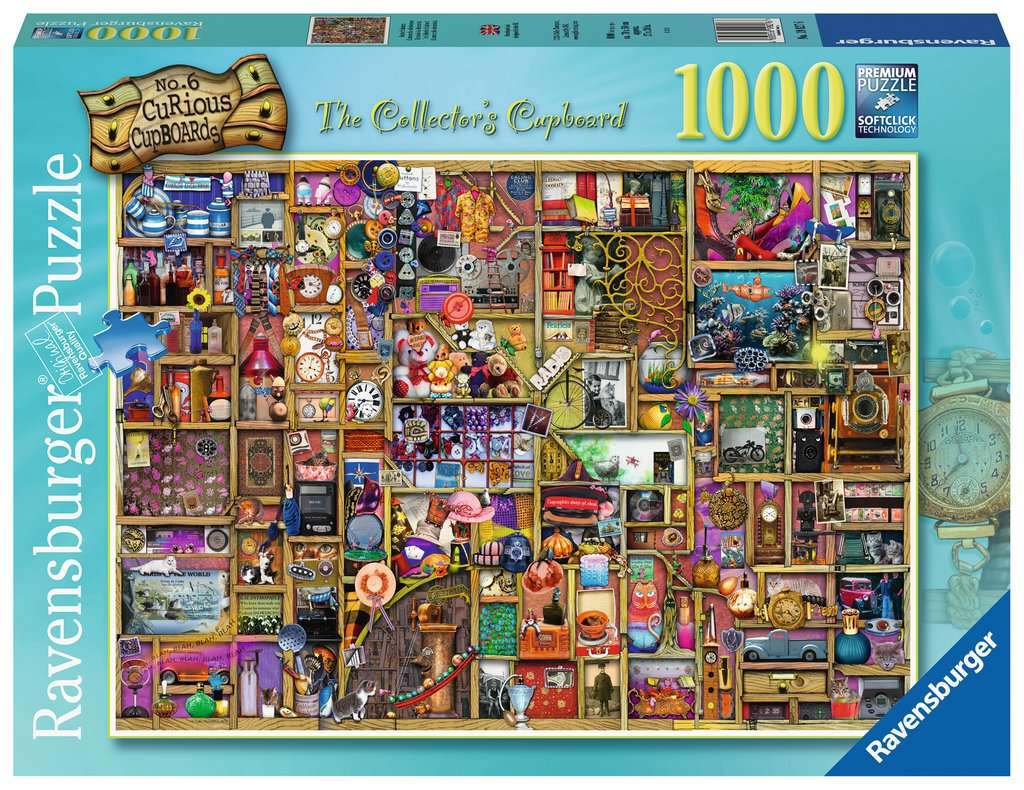 The Collector's Cupboard 1000pc Ravensburger puzzle