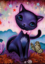 Load image into Gallery viewer, Black Kitty 1000pc Puzzle
