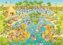 Load image into Gallery viewer, Funky Zoo: Nile Habitat 1000pc Puzzle
