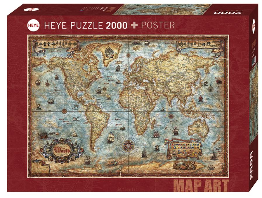 The World 2000pc Puzzle