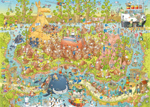 Load image into Gallery viewer, Funky Zoo: Australian Habitat 1000pc Puzzle