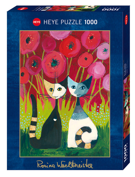 Poppy Canopy by Rosina Wachtmeister 1000pc Puzzle