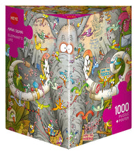 Load image into Gallery viewer, Elephant's Life 1000pc Puzzle
