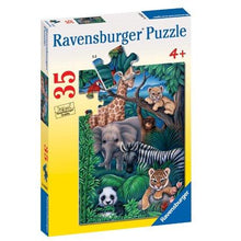 Load image into Gallery viewer, Animal Kingdom 35pc Puzzle