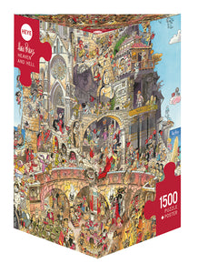 Heaven and Hell 1500pc Puzzle