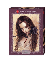 Load image into Gallery viewer, Dark Rose 1000pc Puzzle