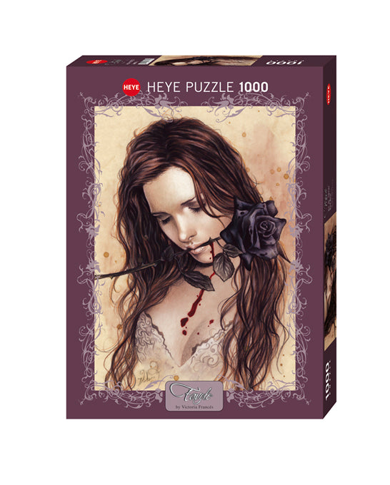 Dark Rose 1000pc Puzzle