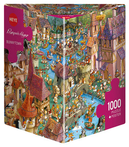 Bunnytown 1000pc Puzzle