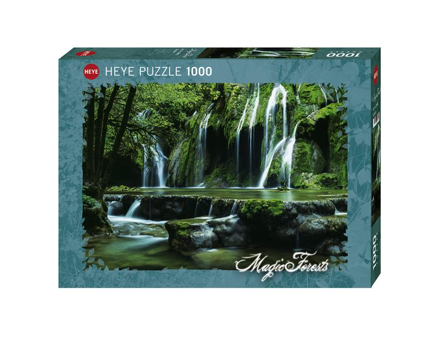 Magic Forests: Cascades 1000pc Puzzle