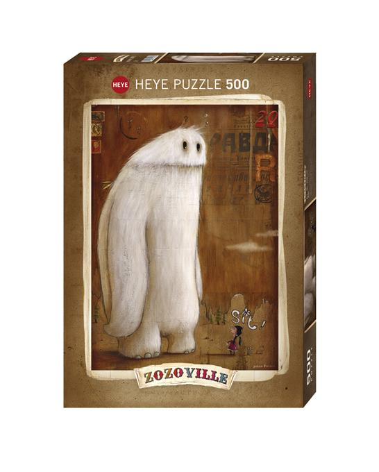 Zozoville: Sit! 500pc Puzzle