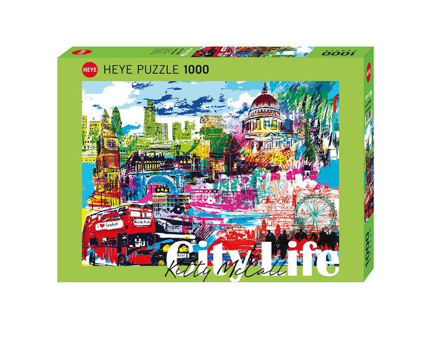I Love London! 1000pc Puzzle