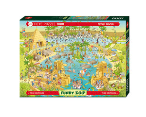 Funky Zoo: Nile Habitat 1000pc Puzzle