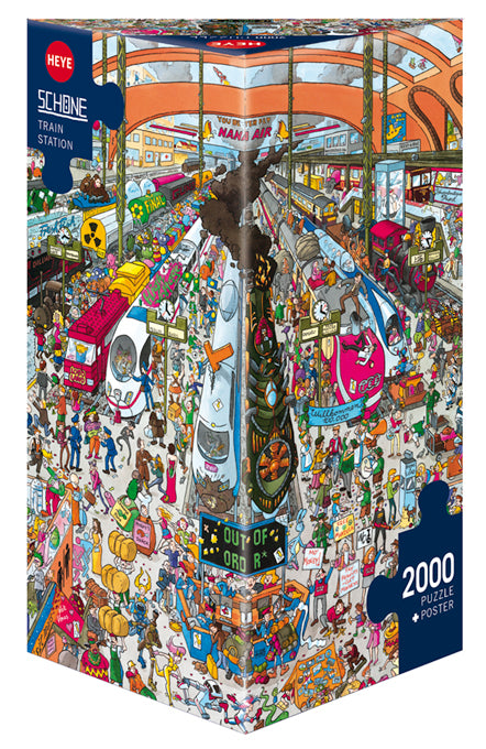 Train Station 2000pc Puzzle