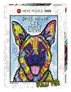 Jolly Pets: Dogs Never Lie 1000pc Puzzle