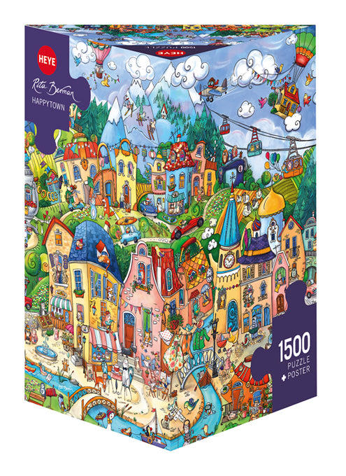 Happytown 1500pc Puzzle