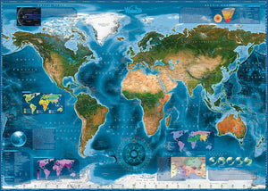 Satellite Map 2000pc Puzzle