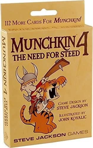 Munchkin Expansion 4: The Need for Steed