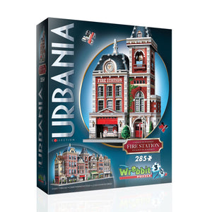 Urbania: Firehouse 285pc 3D Puzzle