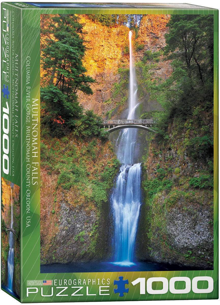 Multnomah Falls, Oregon 1000pc Puzzle