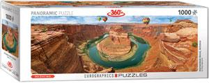 Horseshoe Bend, Arizona 1000pc Panoramic Puzzle