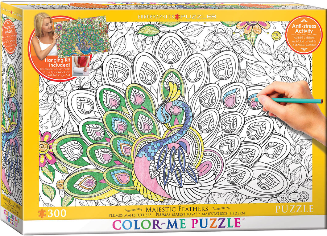 Majestic Feathers 300pc Puzzle