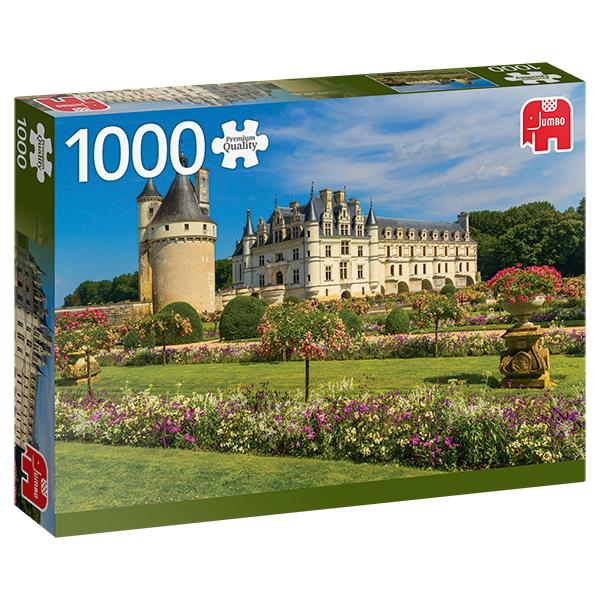 Castle in the Loire, France 1000pc Puzzle