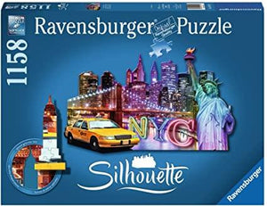 NYC Skyline 1158pc Shaped Puzzle